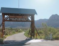 Take in the views at Bonnie Springs Ranch just a short drive from the Las Vegas Strip