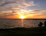 One of the Many Breathtaking Sylvan Beach Sunsets