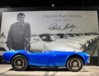 Behold the first ever Cobra at Carroll Shelby's Headquarters