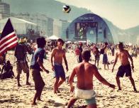 Pick-up Game at the Rio de Janiero Fan Fest on Copacobana Beach