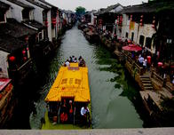 A boat ride down one of Suzhou's canals