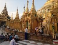 Morning Prayers in Myanmar.