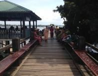 World's Longest Teak Bridge in Myanmar.