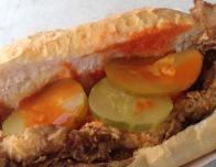 Po Boy sandwich