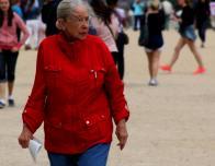 Red Coat at Versailles