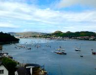 Conwy Harbor View from Conwy Castle