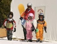 Off to the Slopes at Jackson Hole, Wyoming