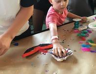 Kids can hand-decorate masks and costumes at Atlantis' Junkanoo celebration.