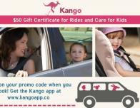 Kango app gift certificates