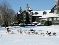 Dog-Sledding at Fairmont Le Chateau Montebello