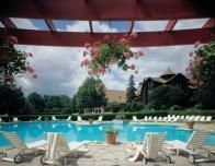 Outdoor Pool at Fairmont Le Chateau Montebello