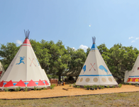 Sleep in Luxe TeePee Comfort at Westgate River Ranch & Rodeo