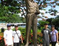 Statue of General MacArthur in Corregidor Island