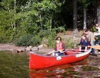 Family Canoe Adventure at Montecito Sequoia Lodge, California