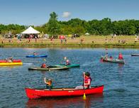 Boating at the Outdoor Campus