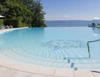 Evian Palace Hotel Royal Outdoor Pool