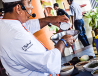 Chefs lecture at the International Gourmet Festival in Puerto Vallarta