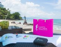 Twittter party beach bag giveaway