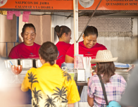 In addition to international restaurants and gourmet Mexican cafes, there's great street food.