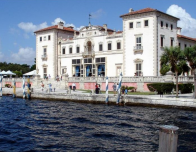 The historic Villa Vizcaya is a Must See in Coconut Grove, Florida