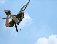 Bungee Jumpers Safely Sends Your Kids Sailing Through the Air at Westgate River Ranch & Rodeo