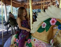 Take a whirl on the Carousel at the Jacksonville Zoo