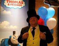 Sir Topham Hat at the New York Hilton Midtown
