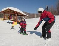 Learning to Snowboard at Smugglers' Notch, Vermont