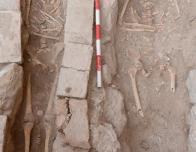 "Skeleton of ""Rodrigo,"" a 13th century knight and monk"