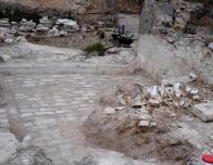 Area 4- The floor and roof tile we exposed