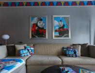 Thomas and Friends themed room at New York Hilton Midtown