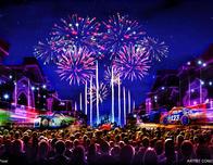 The new Together Forver Fireworks show opens in April at Disneyland; courtesy Disney.