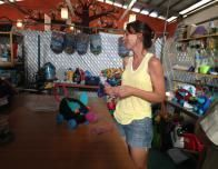 Recycled toys are sold at Entre Amigos in SanPancho, Mexico.