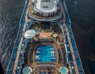View of Anthem of the Seas from North Star - Photo: Steven Soblick