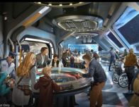 Disney World Star Wars Themed Hotel; artists concept, c. Disney/LucasFilm