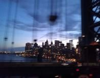 A Blur of the New York Skyline - It Seems an Apt Description for How Quickly the Trip Seemed to Go By