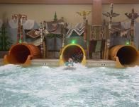 Waterslide Tunnel Fun at Great Wolf Lodge