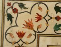 Detail, Taj Mahal stonework