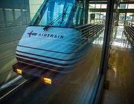 The Airtrain system at Newark Airport.