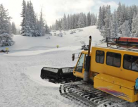 At Aspen, Snowcats take skiers and riders out to find the best fresh powder.
