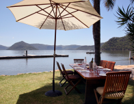 Peat's Bite is one of many cafes along the Hawkesbury River, NSW. Photo courtesy Tourism Australia