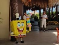 SpongeBob SquarePants Ice Cream Parlor at Azul Beach Hotel.