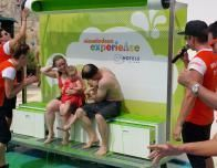 Getting slimed by the Nickelodeon team is an afternoon activity at Azul Hotels.