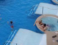 Swimup family suites at Azul Sensatori Resort, Riviera Maya.