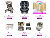Products for rent from BabiesGetaway.com