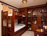 Italian Village kids' bunkbed guestroom at Beaches Turks & Caicos