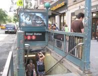 Subway Entrance at 96th Street