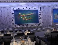Animator's Palate cafe on Disney Magic.