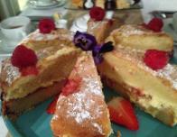 Dorset Cream Tea: Victoria Sponge Cake