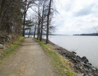 Work out on quiet bike paths on the Ottawa River, or hike trails around the property.
